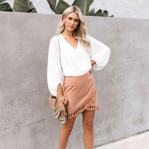 New Vici Tassel Skirt